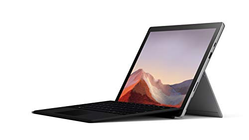 Microsoft Surface Pro 7 – 12.3' Touch-Screen - 10th Gen Intel Core i5 - 8GB Memory - 128GB SSD (Latest Model) – Platinum with Black Type Cover