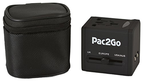 Pac2Go Universal Travel Adapter are used and recommended by the team from Minimalist Journeys