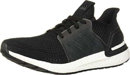 adidas Men's Ultraboost 19 Running Shoe, Black/Black/White, 10.5 M US