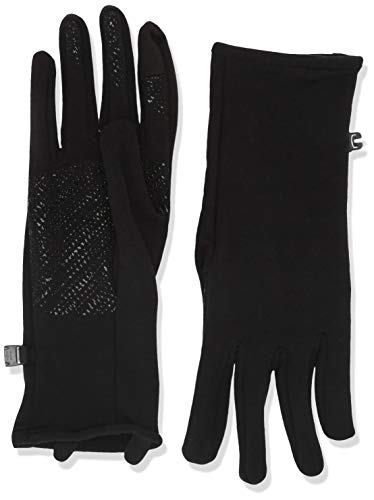 Icebreaker Merino Adult Quantum Gloves, Large, Black