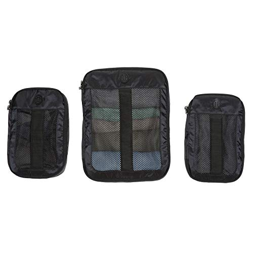 Tortuga Outbreaker Packing Cubes - Luggage Organizers for 35L & 45L Outbreaker Backpacks (Black)