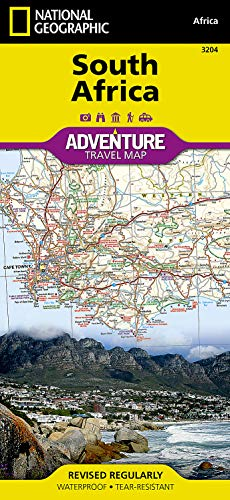 South Africa (National Geographic Adventure Map, 3204)