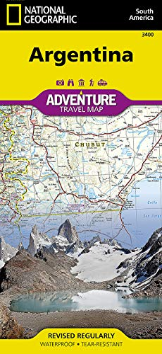Argentina (National Geographic Adventure Map, 3400)